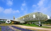 Emirates builds life-size floral version of A380
