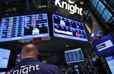 Trading glitch rips through US stock market