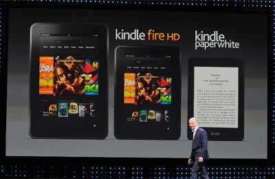 Amazon challenges Apple with new Kindle