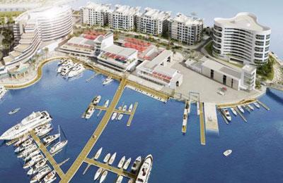 Bahrain Marina Project Work Underway