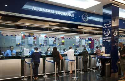 Al ansari exchange forex rate