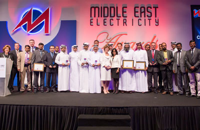 Innovation wins at Middle East Electricity Awards