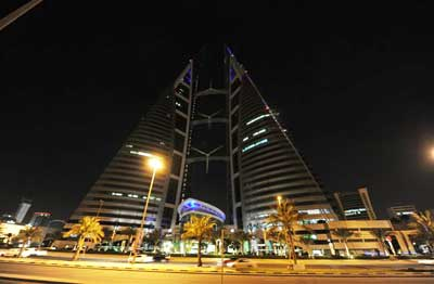 Bahrain landmarks switch off for 39 earth hour 39 for United international decor bahrain