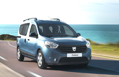 new dacia dokker vans launched in lebanon. Black Bedroom Furniture Sets. Home Design Ideas