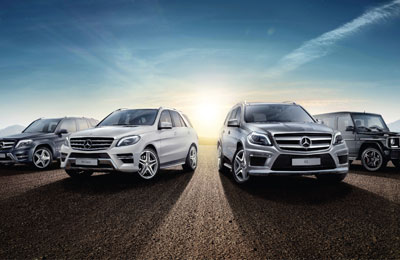 Al haddad launches mercedes benz suv range for Mercedes benz suv range