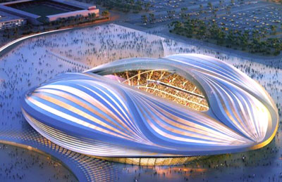 Qatar unveils 2022 world cup stadium design malvernweather Choice Image