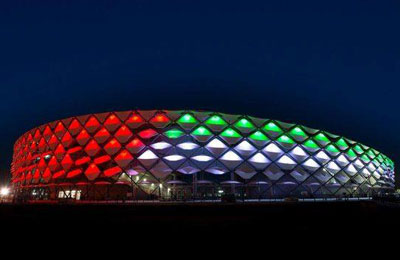 & New Al Ain stadium features LSI lighting