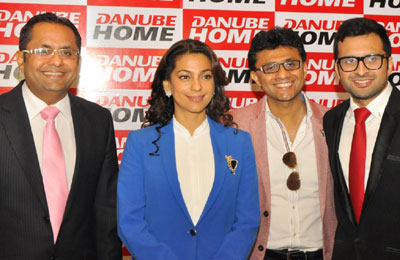 juhi chawla named danube brand ambassador