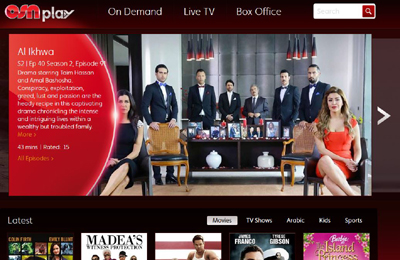 OSN Play records 400pc growth in viewership