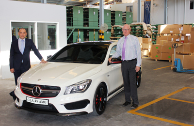 mercedes benz cla45 amg arrives in bahrain
