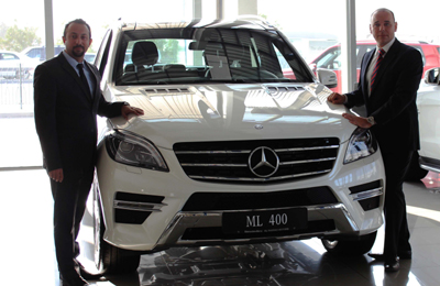 Mercedes Benz Ml400 Arrives In Bahrain