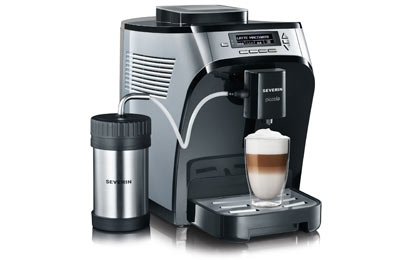 severin launches new fully automatic coffee machines. Black Bedroom Furniture Sets. Home Design Ideas