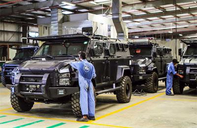 Streit opens armoured vehicles park at RAK FTZ