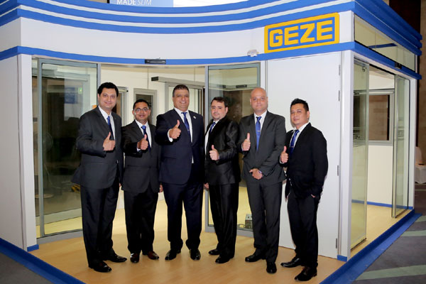 Geze rolls out new automatic swing door models  sc 1 st  Gulf Construction & Gulf Construction Online - Geze rolls out new automatic swing door ...
