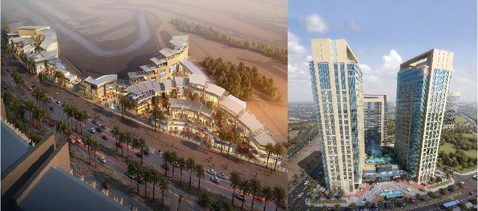 Gulf construction online motor city rezidor hotel for Hotels in motor city dubai