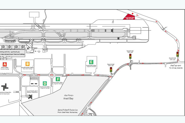 bahrain airport terminal map New Carpark To Handle Eid Rush At Bahrain Airport bahrain airport terminal map