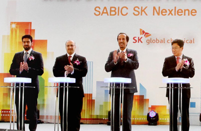 Sabic, SK Global launch new plant in Korea