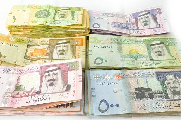 Dollar Saudi Riyal Forwards Jump