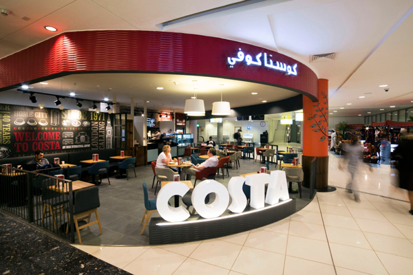 227284f522d5 Travel, Tourism & Hospitality. Abu Dhabi Airport welcomes new Costa Coffee  outlet