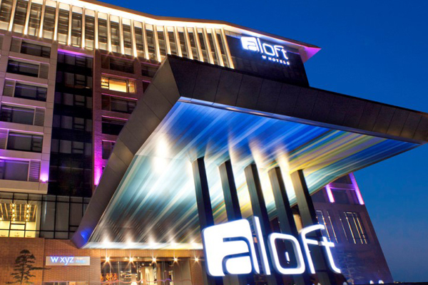 New aloft branded resort to open in dubai for New hotels in dubai 2016