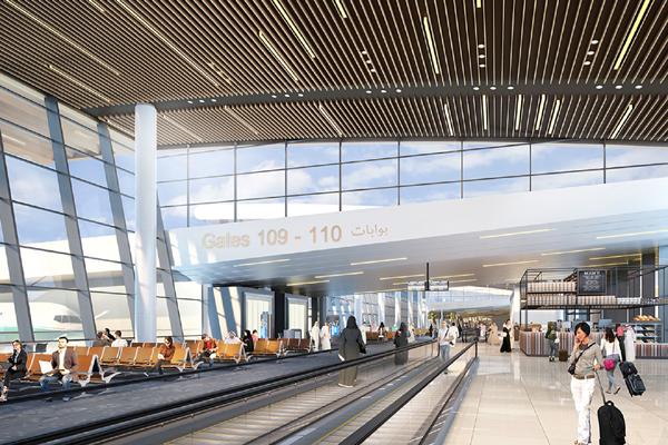 Benoy to design Bahrain airports new terminal interior