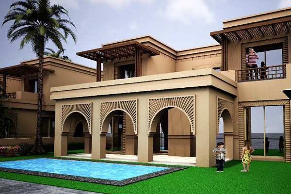 Green valley plans 300m villa project in morocco for Construction villa casablanca