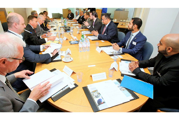 Key oman business delegation visits london - Iran air office in london ...