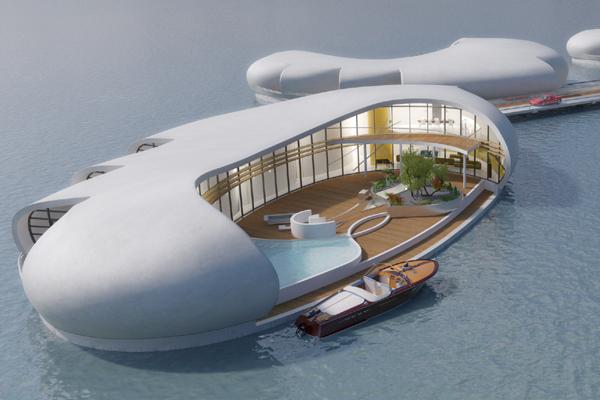 Unique Floating Homes Set For Dubai Launch