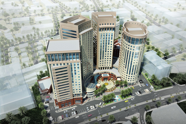 Doha third busiest city in mideast for hotel construction for Design hotel qatar