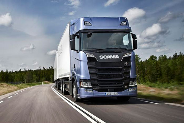 scania s s series truck wins global honour. Black Bedroom Furniture Sets. Home Design Ideas