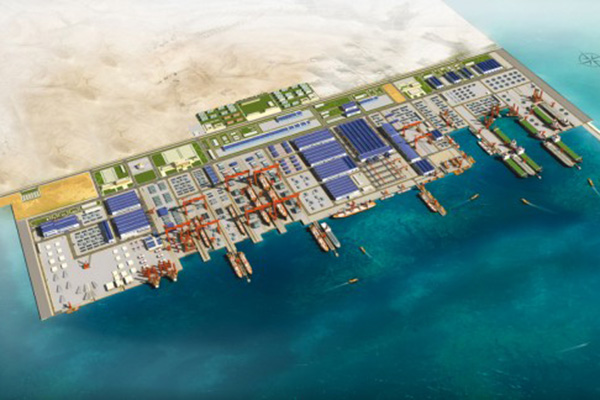 Saudi King Lays Foundation For Giant Maritime Complex