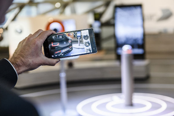 Gulf Industry Online Bmw I Pilots Augmented Reality Product Visualiser