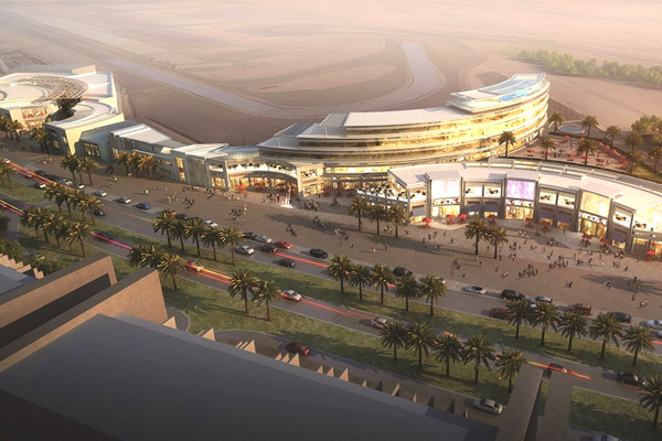 Dubai motor city retail project nearing completion for Motor inn city ave