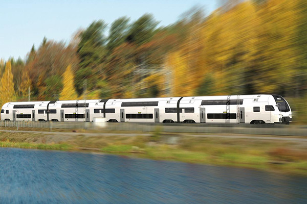 ABB to provide trains for rail operators<br> in Switzerland, Sweden and Hungary.