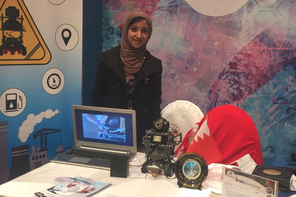 Tasneem Mohamed Yousif won the silver medal for<br>her invention - Smart Gas System