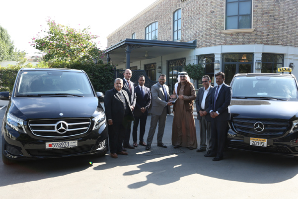 Al Haddad Marks Delivery Of 10 New Vans To City Limo