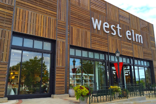 West Elm Opens First Furniture