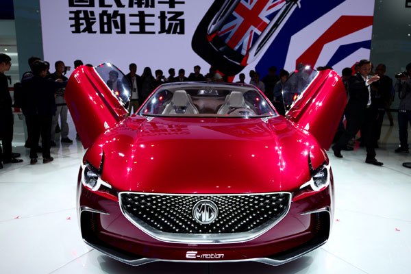 The MG E-motion concept