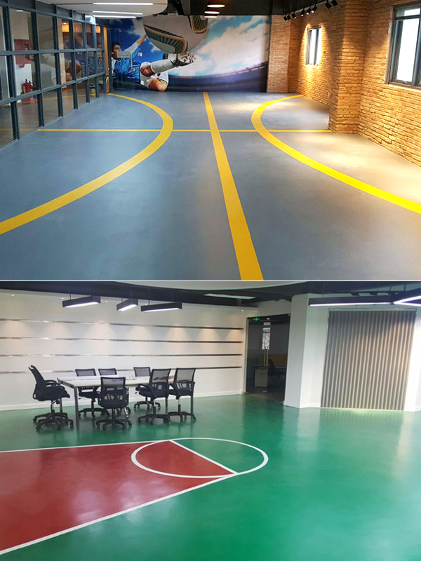 Yegin floor ... to offer employees with a fun and enjoyable atmosphere.