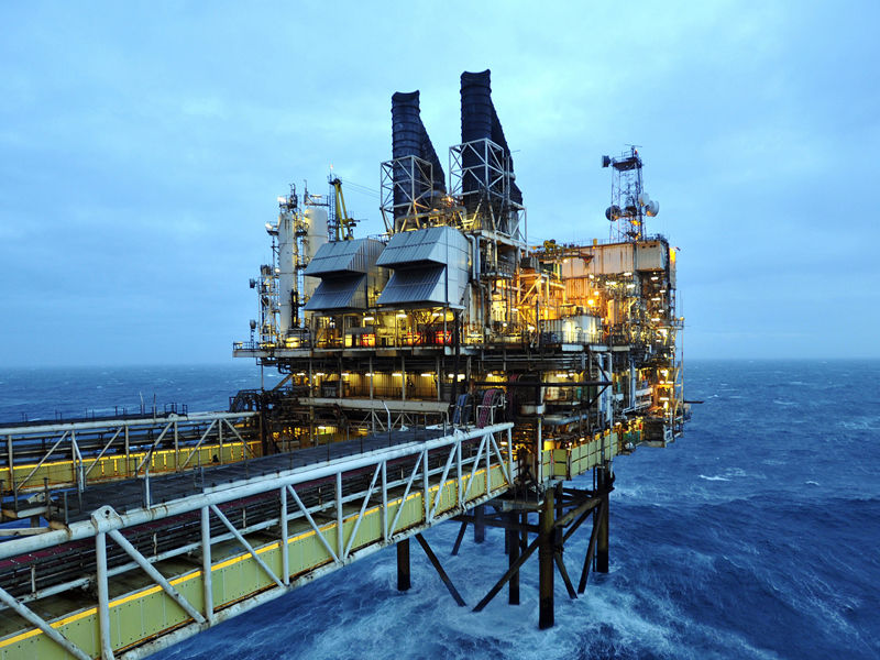 North Sea oil output is expected to jump