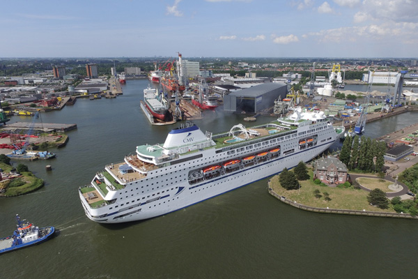 Damen Prepares Columbus For Summer Cruise Season