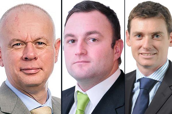 Martin, Rautenbach and Moore .. set for bigger role.