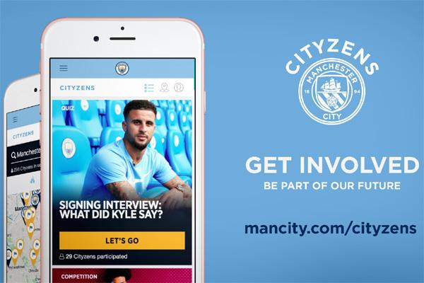 Αποτέλεσμα εικόνας για Manchester City launch new global fan engagement platform