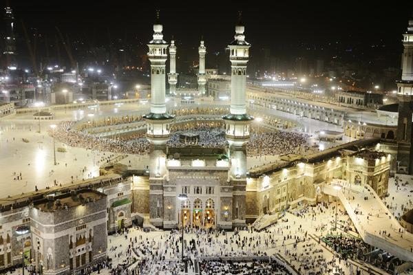 Huge Umbrellas Planned For Makkah