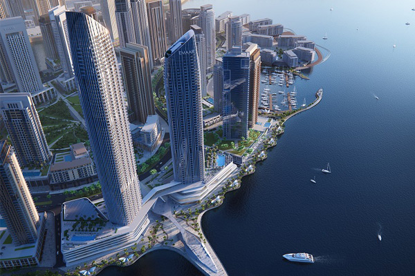 An artist'st impression of the Address Harbour Point.