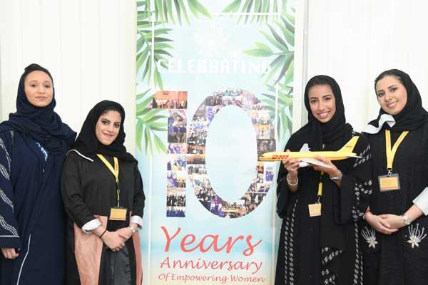 DHL Express Saudi marks a decade of employing women