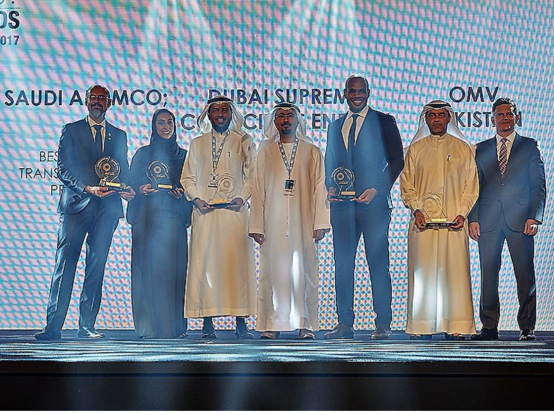 The Adipec 2017 award winners