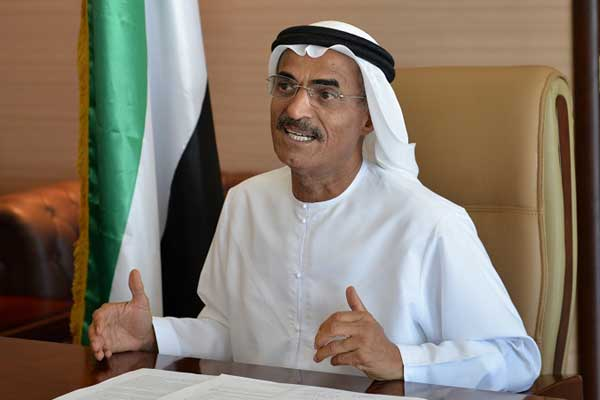 Dr Abdulla Belhaif Al Nuaimi, Minister of Infrastructure<br>Development and chairman of the FTA