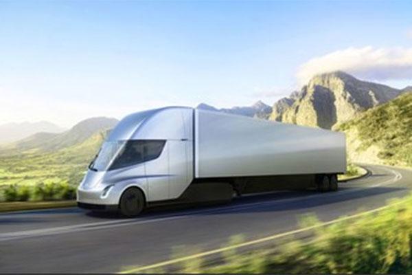 Fifty electric Tesla Semi trucks will arrive on UAE roads<br>from 2020.