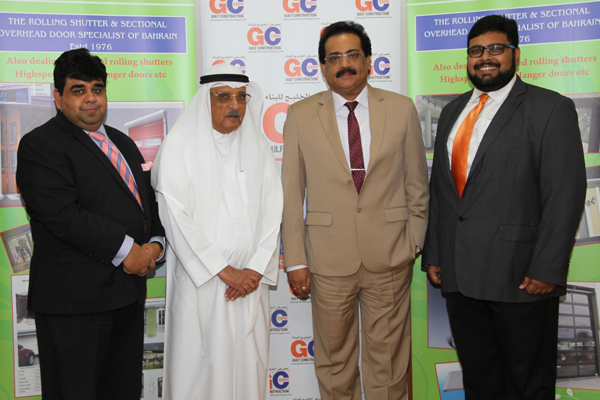 Officials at the signing ceremony held in Manama.